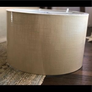 Pottery Barn Textured Gallery Straight Sided Shade